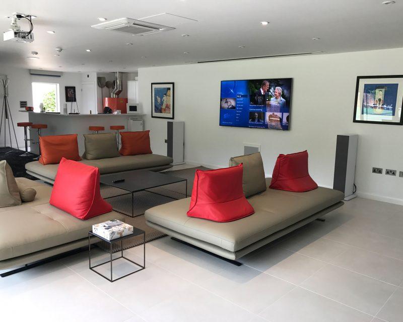 Audio-Visual-Smart-Home